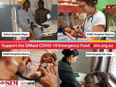 SIMaid COVID-19 Emergency Fund image