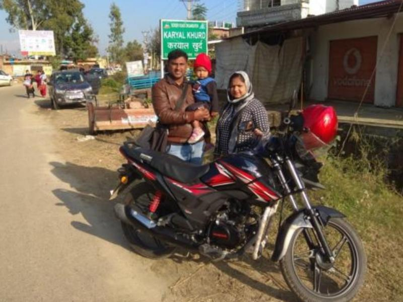 Motor bikes for Indian Missionaries