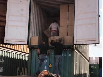 Humanitarian Relief Shipping Container