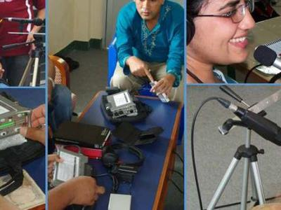 Recordist Training - an ongoing project