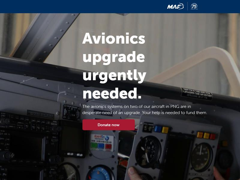 Avionics Upgrade Urgently Needed.