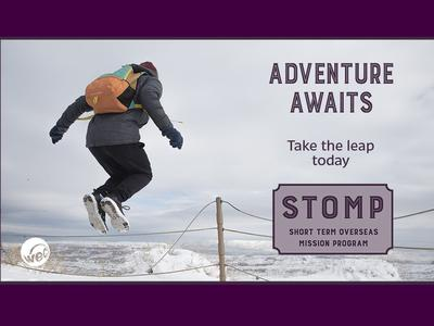 WEC's Team STOMPs - Short Term Overseas Mission Program.