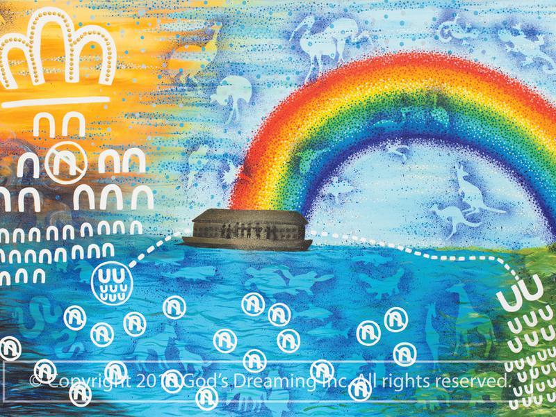 God's Dreaming Prints image