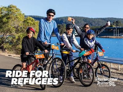 Ride for Refugees Sydney