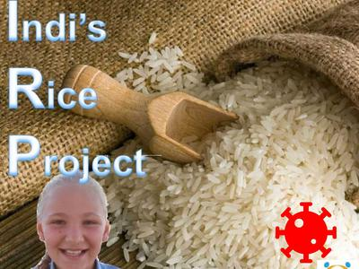 Indi's Covid-19 rice project image