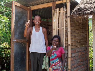 Gift of Love – Toilet Construction